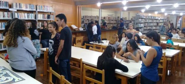 Jovens movimentam a Biblioteca da Urca com realização de projetos culturais_Autor da Foto